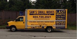 Pick up trucks and one ton cube vans in East Van