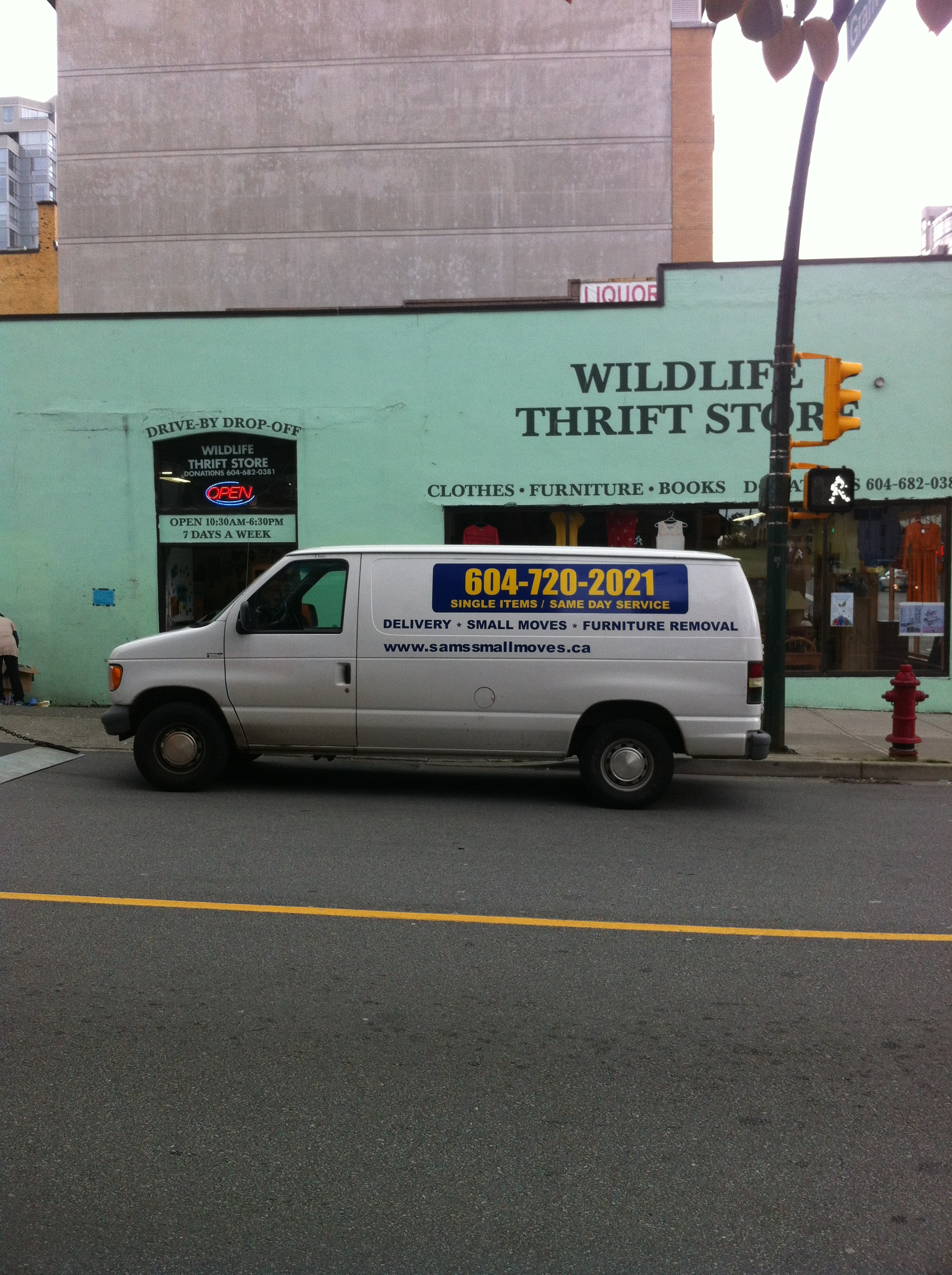 furniture donation pick up drop off the wildlife thrift store downtown vancouver sam 39 s