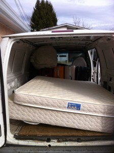 Mattress and Box Spring Delivery