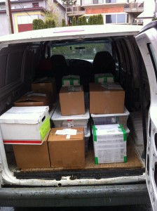 Boxes, Packages Delivery or Transfer Service Vancouver