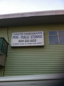 Self Storage Vancouver - Moving - Storage - moving businesses, and self storage