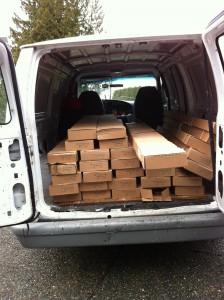 Hardwood Flooring Delivery