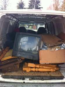 TV Removal & Recycling - Vancouver - big screen TV recycling Vancouver