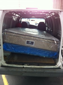 Pickup Services, Delivery Services - Queen Mattress And Box Spring SMALL MOVES