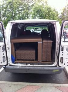 Furniture Delivery - Garden furniture delivery service